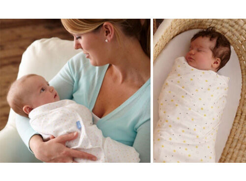 Gro-swaddle - fitted baby swaddle