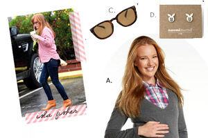 Celebrity maternity style: Isla Fisher