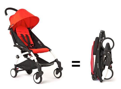 BABYZEN YOYO lightweight compact travel stroller