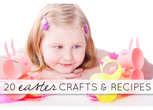 Easter crafts and recipes