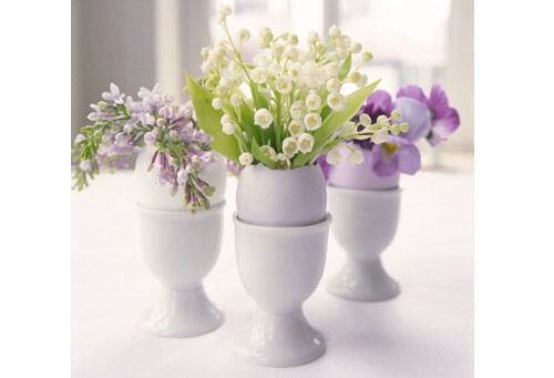 easter egg flower arrangements