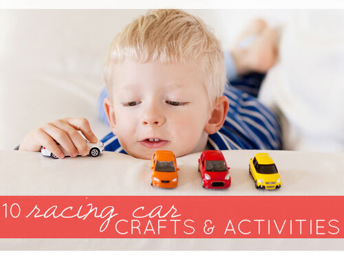 11 racing car crafts and activities