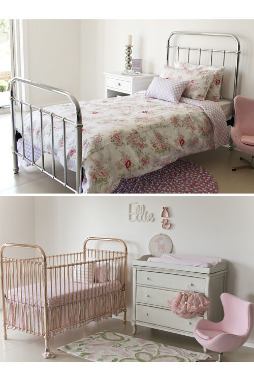 Incy metallic iron beds and cots