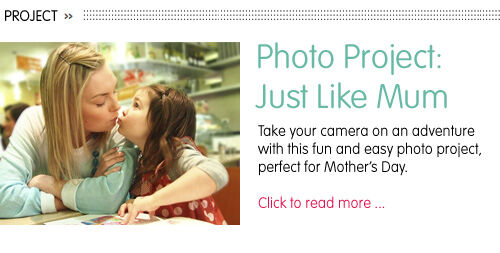Photo project for Mother's Day