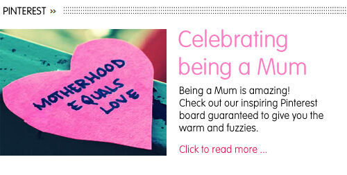 Pinterest: Celebrating Being a Mum