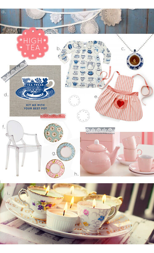 9 must-haves for the perfect mini high tea