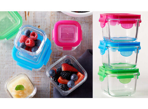 littlelock glass baby food containers. Black Bedroom Furniture Sets. Home Design Ideas