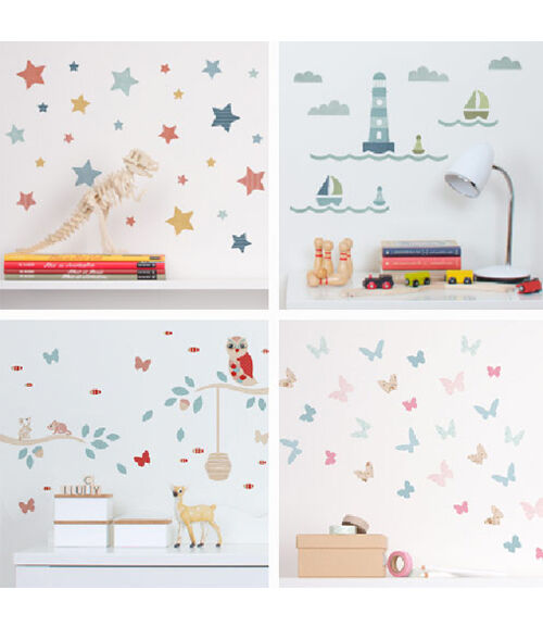 Tinyme Mini Wall Stickers
