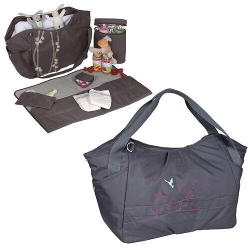 lassig twin nappy bag. Black Bedroom Furniture Sets. Home Design Ideas