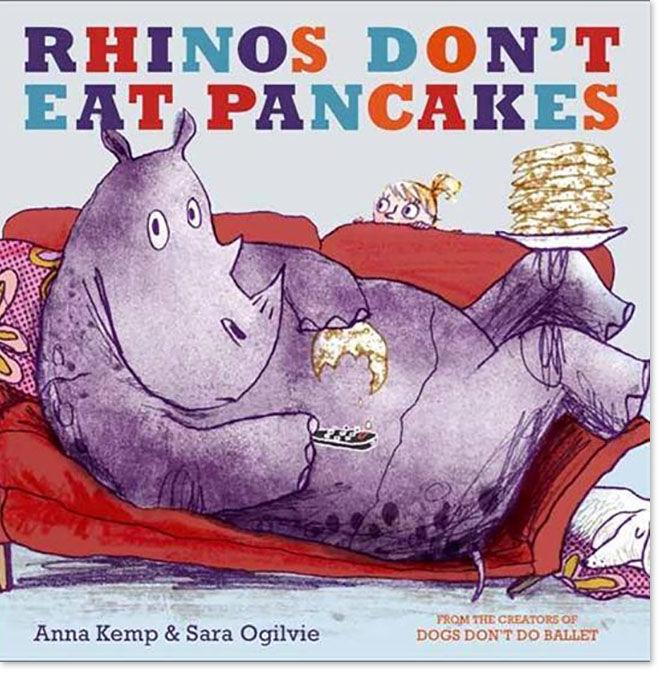 Book Review - Rhinos Don't Eat Pancakes