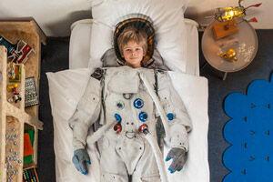 snurk bedlinen astronaut