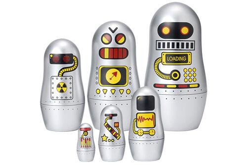 Robot babushka dolls