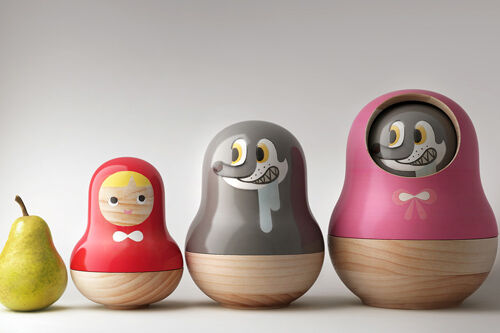 Little Red Riding Hood nesting bowls