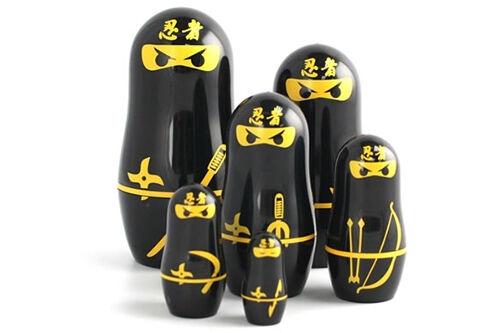 Ninja babushka dolls