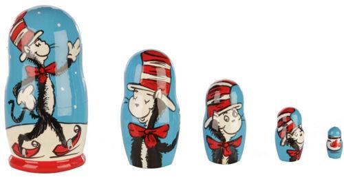 Dr Seuss matryoshka babushka doll