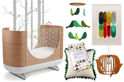 Nursery Design: Fresh Forest