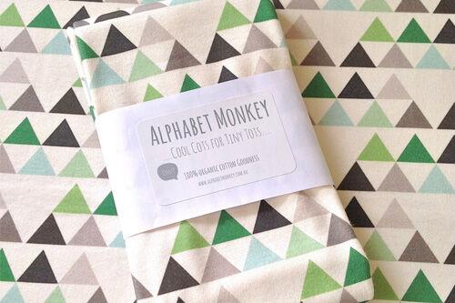 Alphabet Monkey Organic Cotton Jersey Swaddle
