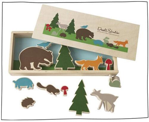 DwellStudio forest puzzle