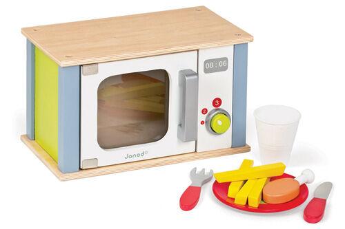 Janod Picnik wooden microwave