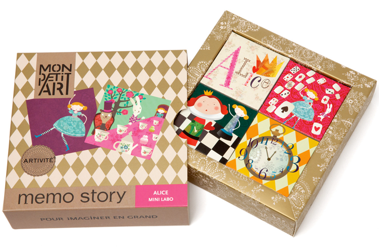 Alice in Wonderland memory game by Mon Petit Art