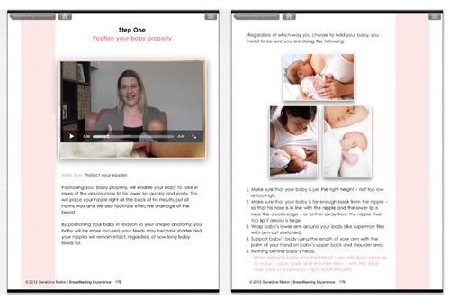 Breastfeeding Experience app