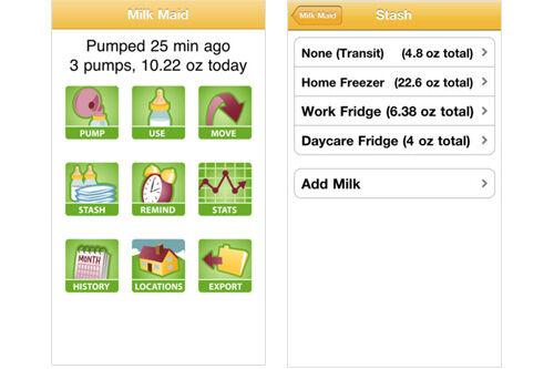 Breastfeeding apps for nursing mums
