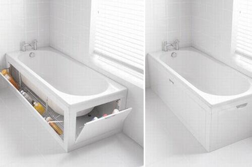 Stowaway bath storage