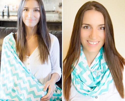 Medahm breasfeeding infinity scarf