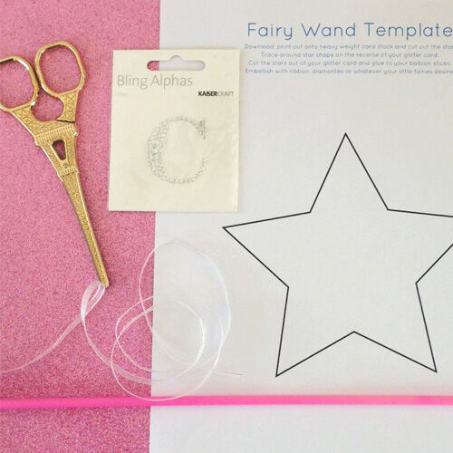 Craft: Make Your Own Monogrammed Fairy Wand