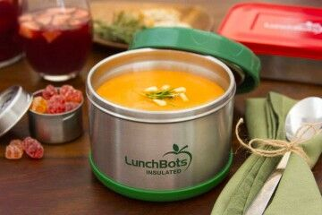 Storage ideas for hot lunches