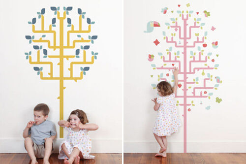 Geo Wall Stickers from tinyme