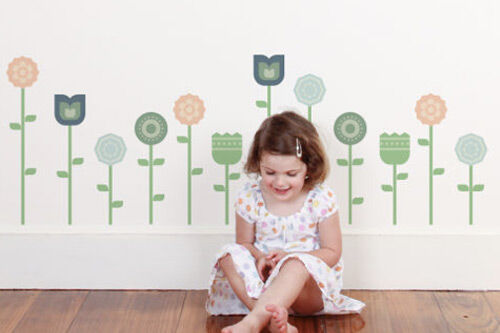 tinyme geometric wall stickers