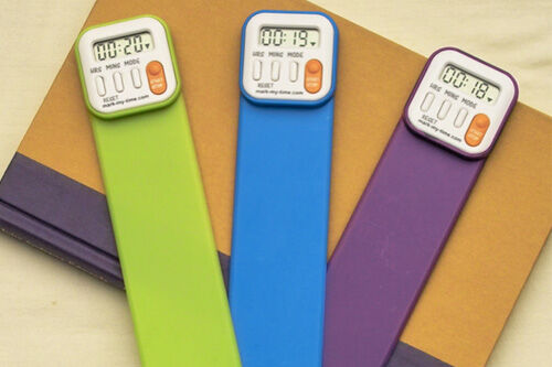 Mark My Time - reading timer bookmark