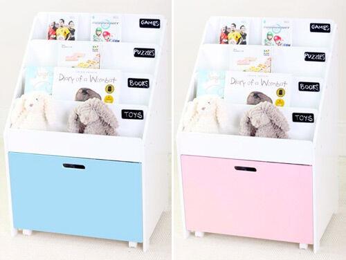 Hip Kids Oscar Chalkboard Bookshelf And Toy Box