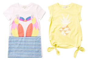 Tropical Summer kids fashion