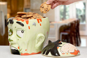 Cookie Jar Zombie Head
