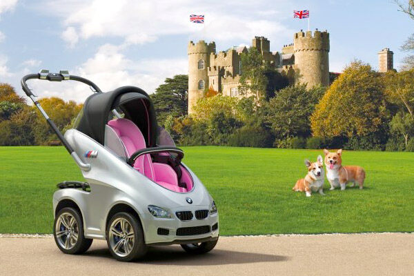 BMW pram April Fool's