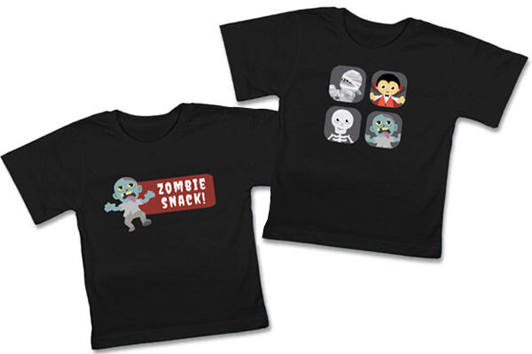 Hippo Blue Halloween T-Shirts