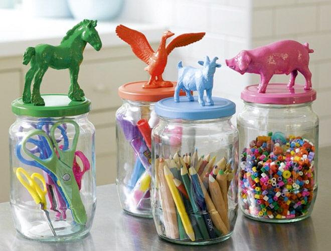Animal Jar Lids