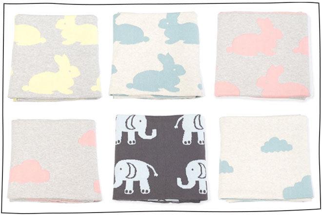 Indus-Design Cot Pram Blanket