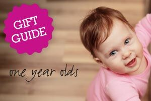Gift Guide: One Year Olds