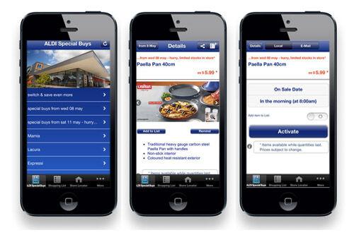 Aldi shopping list app