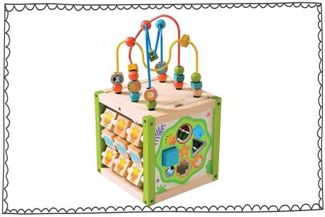 Ever Earth Activity Cube