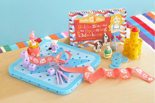 Goldie Blox engineering toys