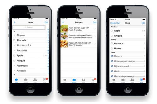 Grocery Zen shopping list app