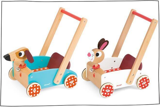 Janod Push-Along Cart