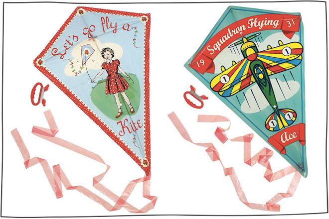 Retro kites
