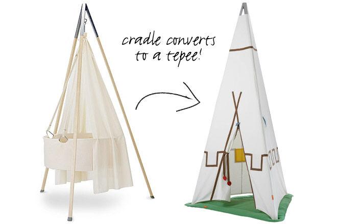 Leander cradle tepee conversion kit