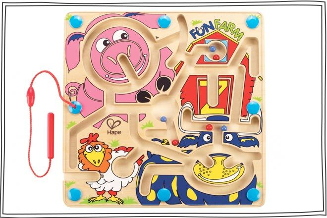 Hape Magnetic Marble Game