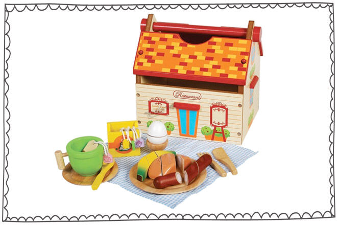 Santoys Toy Box Food Set
